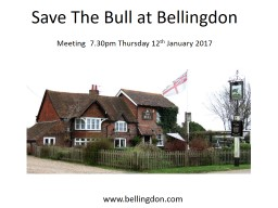 Save The Bull at Bellingdon