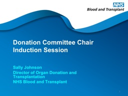 Donation Committee Chair