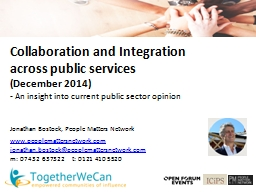 Collaboration and Integration