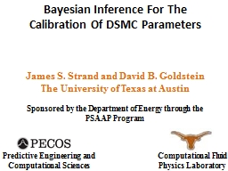Bayesian Inference For The Calibration Of