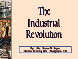 The Industrial PowerPoint PPT Presentation