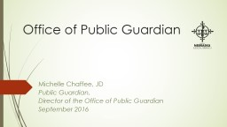 Office of Public Guardian