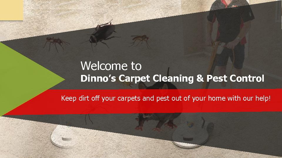 Dinno's Carpet Cleaning & Pest Control PowerPoint PPT Presentation