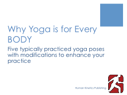 Why Yoga is for Every BODY