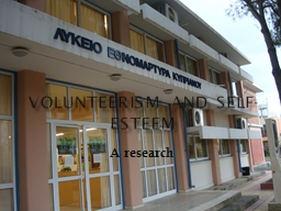 Volunteerism and Self-Esteem