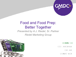 Food and Food PowerPoint PPT Presentation