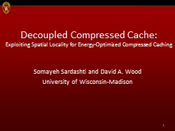 Decoupled Compressed Cache: