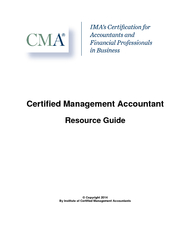 Certified Management Accountant Resource Guide  Copyri