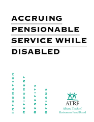ACCRUING PENSIONABLE SERVICE WHILE DISABLED ATRF Alber