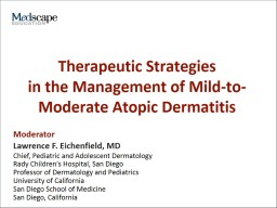 Therapeutic Strategies PowerPoint PPT Presentation