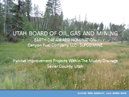 UTAH BOARD OF OIL, GAS AND MINING