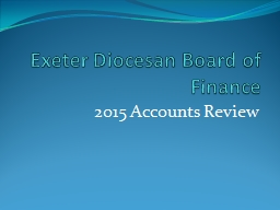 Exeter Diocesan Board of Finance