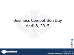 Business Competition Day