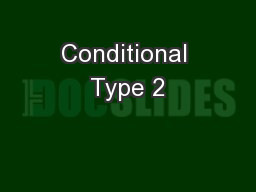 Conditional Type 2