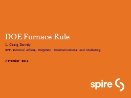 DOE Furnace Rule