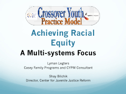 Achieving Racial Equity