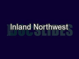 Inland Northwest
