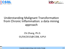 Computational modeling of cancer micro-environment by using