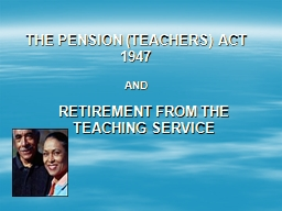 THE PENSION (