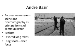 Andre PowerPoint PPT Presentation