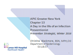 APIC Greater New York