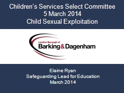 Children's Services Select Committee