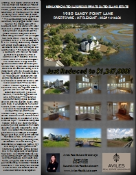 NEWLY RENOVATED! LUXURIOUS! PRIVATE, GATED ISLAND ESTATE!