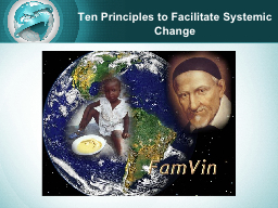 Ten Principles to Facilitate Systemic Change