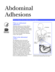 Abdominal Adhesions National Digestive Diseases Inform