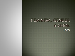 a study on feminism Feminist theory explores both inequality in gender relations and the constitution of gender it is best understood as both an intellectual and a normative project what is commonly understood as feminist theory accompanied the feminist movement in the mid-seventies, though there are key texts from.