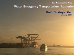 Water Emergency Transportation Authority