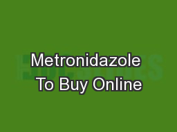 where to buy flagyl (metronidazole)