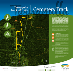 DUQDJXOOD Cemetery Track The Cemetery Track adjoins th