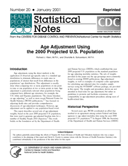 Age Adjustment Using the  Projected U
