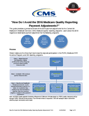 How Do I void the  Medicare Quality Reporting Payment