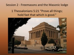 """1 Thessalonians 5:21 """"Prove all things;"""