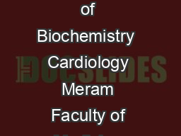 Serum trace elements in obese women with or without diabetes PHUD Departments of Biochemistry  Cardiology Meram Faculty of Medicine Necmettin Erbakan University Konya Turkey Received November   Backgr