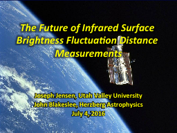 The Future of Infrared Surface Brightness Fluctuation Dista