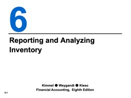 Reporting and Analyzing Inventory PowerPoint PPT Presentation
