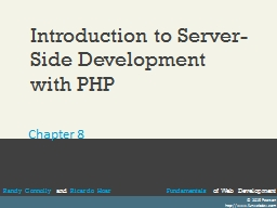 Introduction to Server-