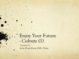 Enjoy Your Future