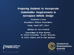 Preparing Students to Incorporate Stakeholder Requirements