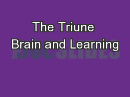 The Triune Brain and Learning