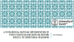 A hierarchical Bayesian implementation of purely Bayesian a