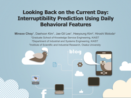 Looking Back on the Current Day: Interruptibility Predictio