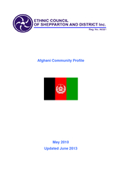 Afghani Community Profile May  Updated June   Country