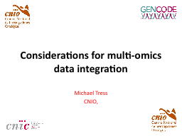 Considerations for multi-