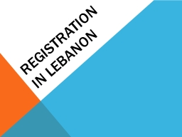 Registration in