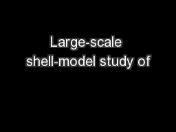Large-scale shell-model study of