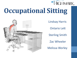 Occupational Sitting